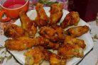 Куриные крылья с соевым соусом в хрустящем кляре