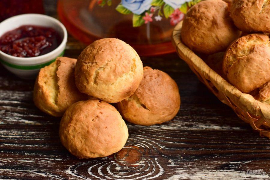 Пончики в духовке с творогом