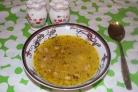 Гороховый суп с салом