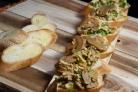 Бутерброды с курицей и шампиньонами