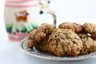 Овсяное печенье с грецкими орехами