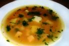 Гороховый суп с колбасой в мультиварке
