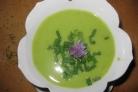 Суп из молодого гороха