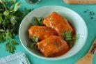Голубцы в томатно-сметанном соусе в мультиварке