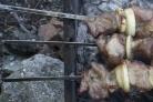 Шашлык из телятины по-грузински