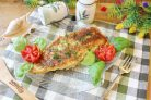 Камбала в панировочных сухарях на сковороде