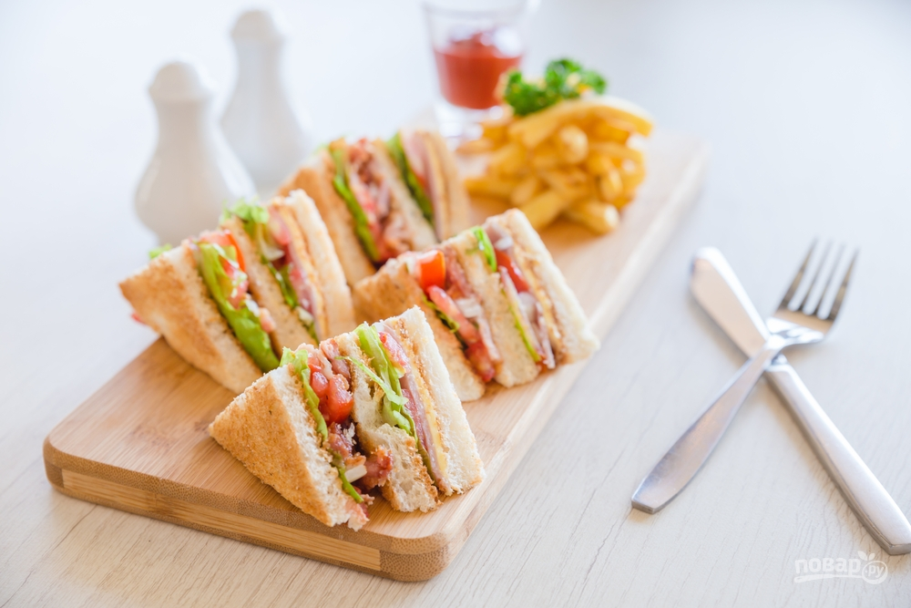 Мини-сэндвичи