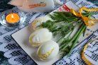 Закуска Белые тюльпаны