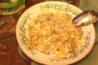 Салат Обжорка с мясом и грибами
