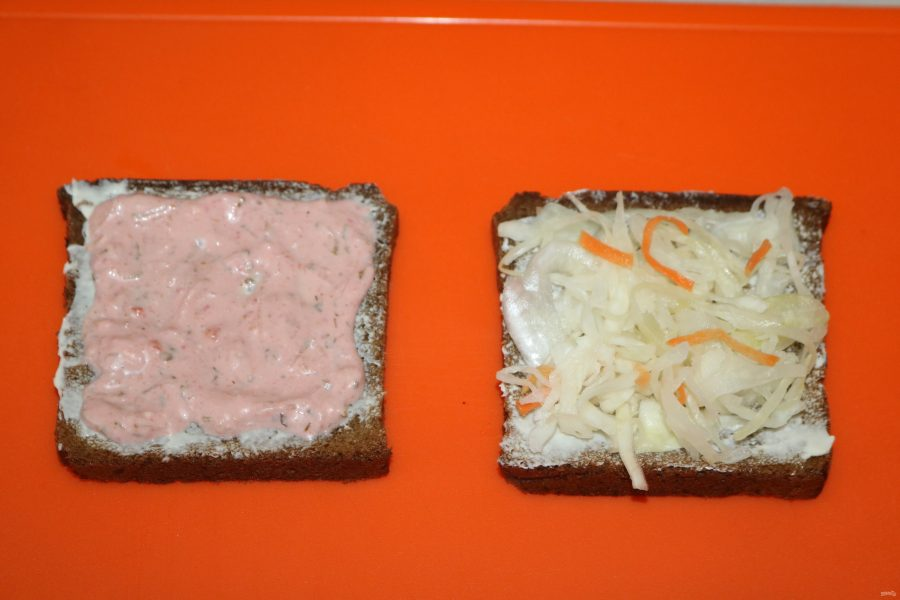 """Сэндвич """"Рубэн"""""""