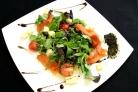 Салат с красной рыбой Норвежский