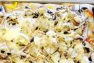 Пицца с грибами портобелло, свежим перцем и козьим сыром