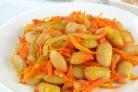 Фасоль с морковью