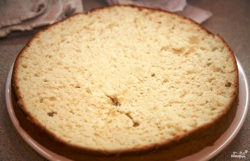 Рецепт простого кекса на кефире без масла