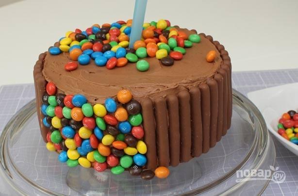 торт с ммдемсом рецепт
