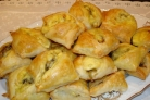 Пирожки с шампиньонами
