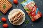 """Сэндвич с грибами и кетчупом """"Махеевъ"""""""