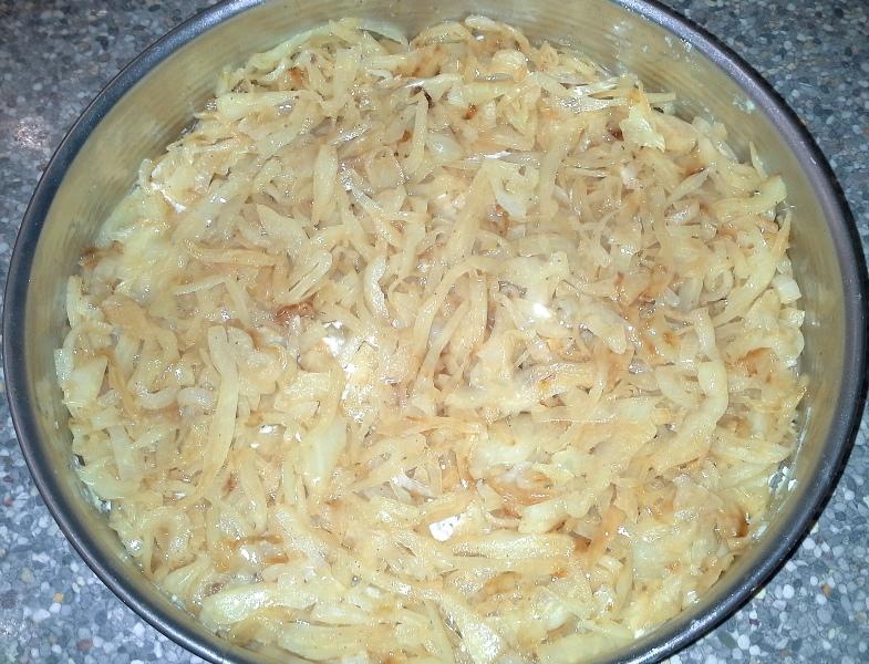 запеканка из отварного картофеля