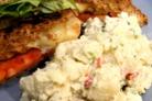Картофельный салат с сельдереем и корнишонами