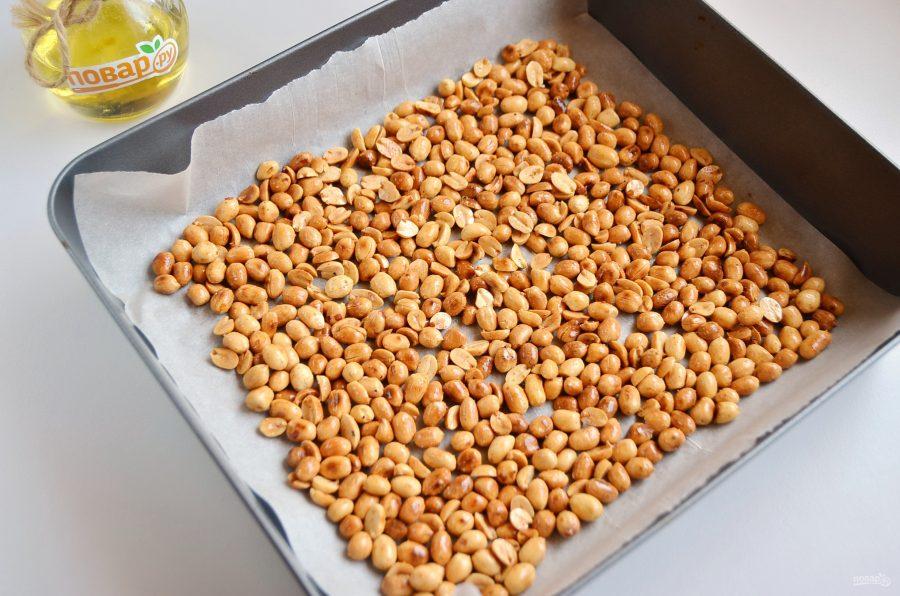 Орешки соленые в специях