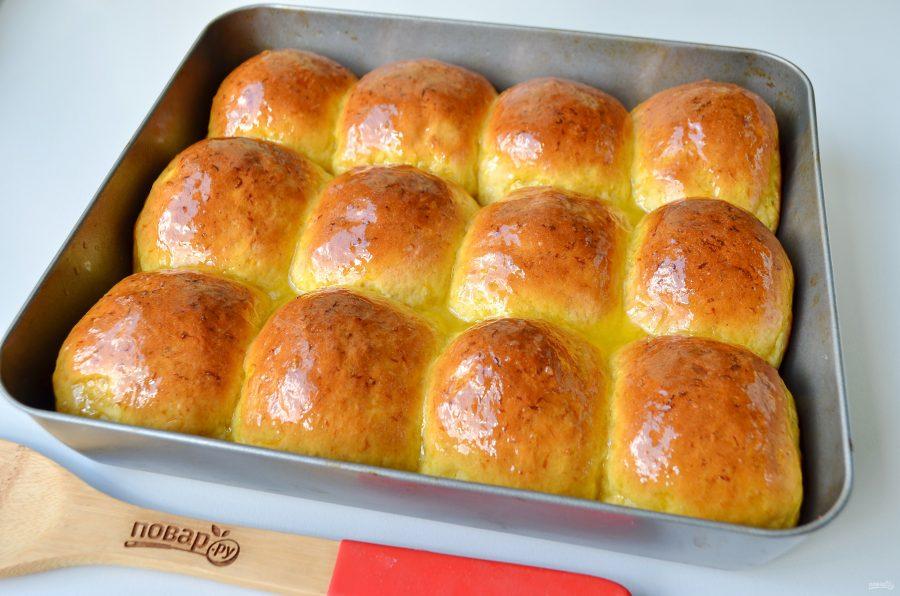 Тыквенные булочки с медом