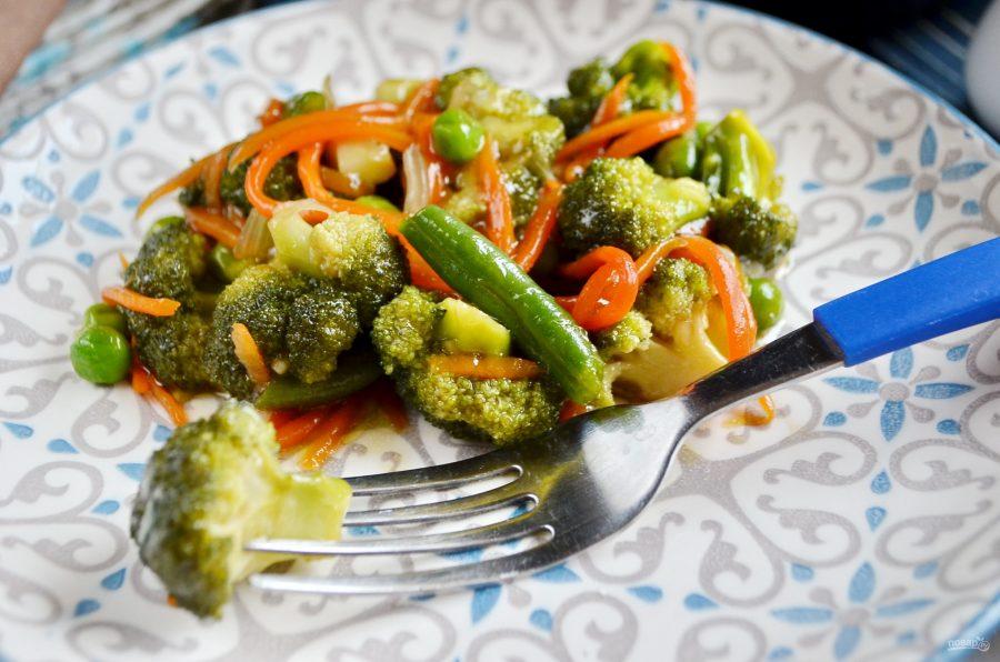 Стир-фрай из овощей