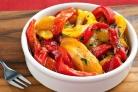 Тушеный болгарский перец