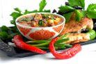 Рисовый суп Мастава с фрикадельками