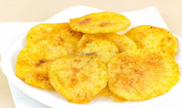 Домашние картофельные чипсы в духовке