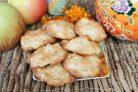 Печенье с курагой и яблоком