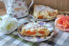 Абрикосовый пирог с заварным кремом