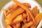 Жареные сладкие овощи