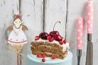 Торт с сухофруктами и орехами