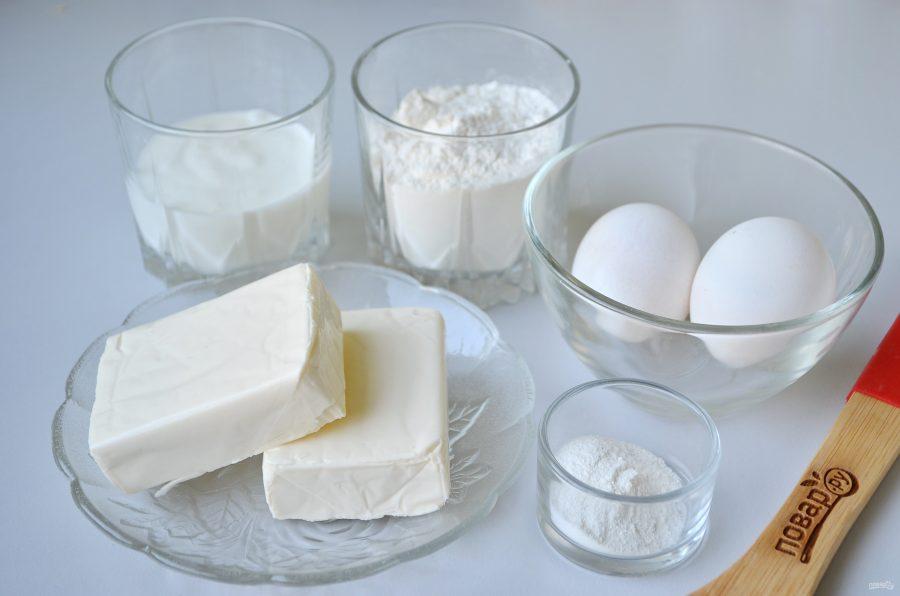 Закусочные кексы из плавленного сырка