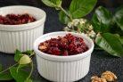 Салат из свеклы с изюмом и грецкими орехами
