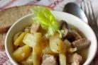 Тушеная фасоль с мясом