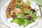 Тайская куриная пицца