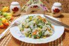 Рис с кукурузой и фасолью