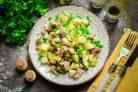 Картофельный салат с говядиной