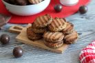 Печенье с молочным шоколадом