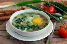 Щавелевый суп с крапивой