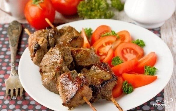 Мясо на шпажках пошагово 41