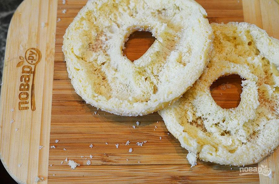 Фаршированные пончики на завтрак