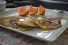 Апельсиновые оладьи с рикоттой