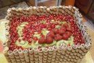 Торт Фруктовая корзина