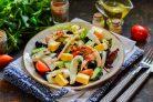 Греческий салат с кальмарами