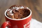 Кекс в микроволновке за 5 минут