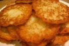 Картофельные драники с манкой