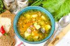 Суп из копченой семги