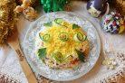 Новогодний салат Нежность